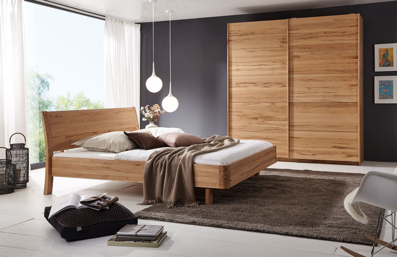 bett swing die holzschmiede massivholzm bel. Black Bedroom Furniture Sets. Home Design Ideas